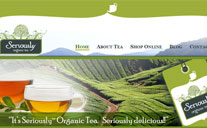Seriously Tea Website